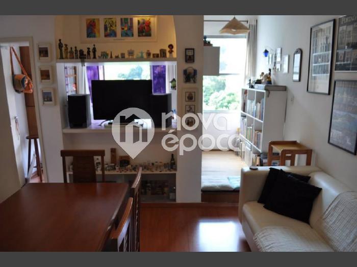 Botafogo, 2 quartos, 1 vaga, 55 m² rua são clemente,