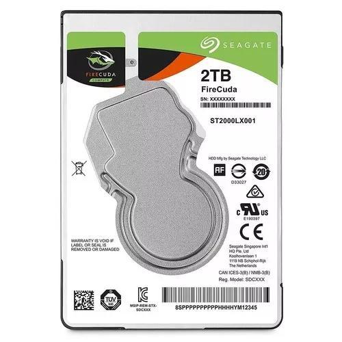 Hd Sshd 2tb Notebook Hibrido Ssd 8gb Firecuda Sata 6.0gbs