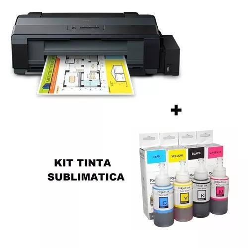 Impressora epon colorida l1300 + 01 kit tinta sublimatica