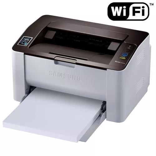 Impressora samsung sl-m2020w laser com wi-fi 110v
