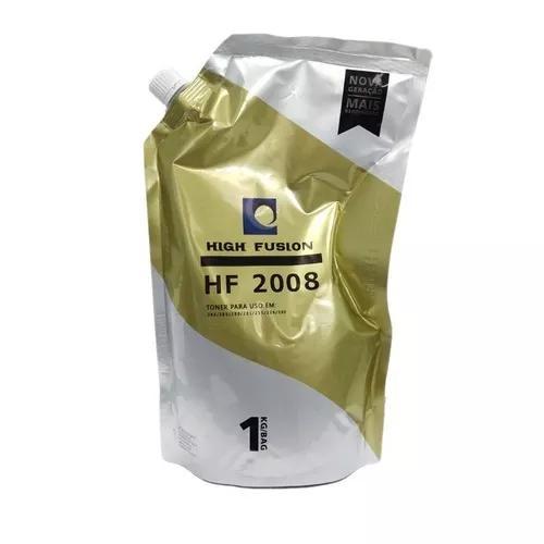 Pó toner refil high fusion hf2008 universal chapado