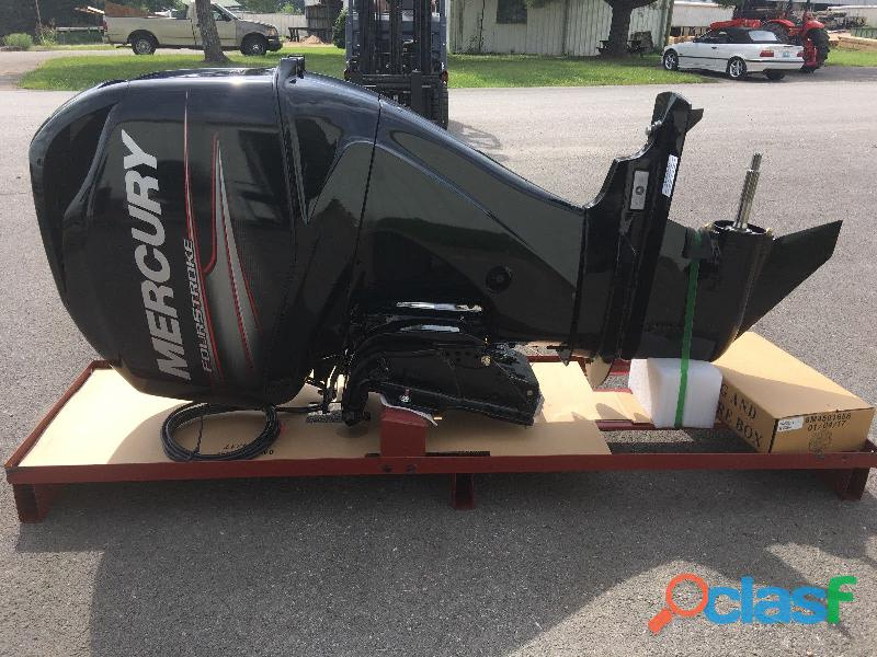 "New 2019 mercury 60 hp command thrust efi 4 cylinder 4 stroke 20"" outboard motor"
