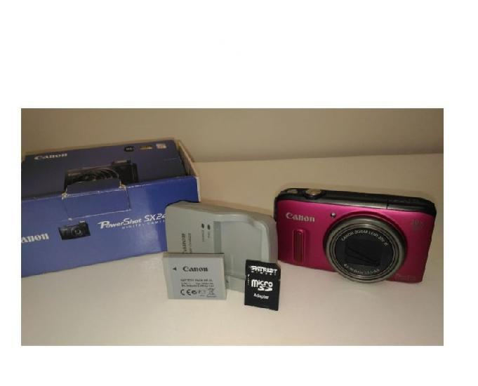 Canon powershot sx240 hs. zoom 20x. 12.1mp