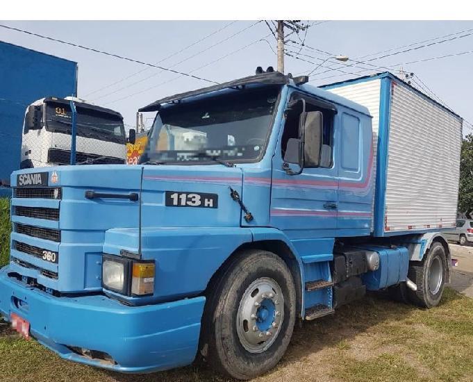 Scania t 113 360 1996 4x2 unico dono baixo km