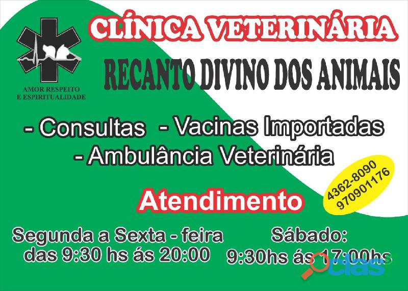 Clínica veterinária com ambulância uti 24 hs