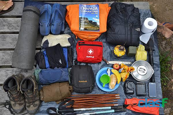 Compro equipamentos de trekking, camping e montanhismo usados!
