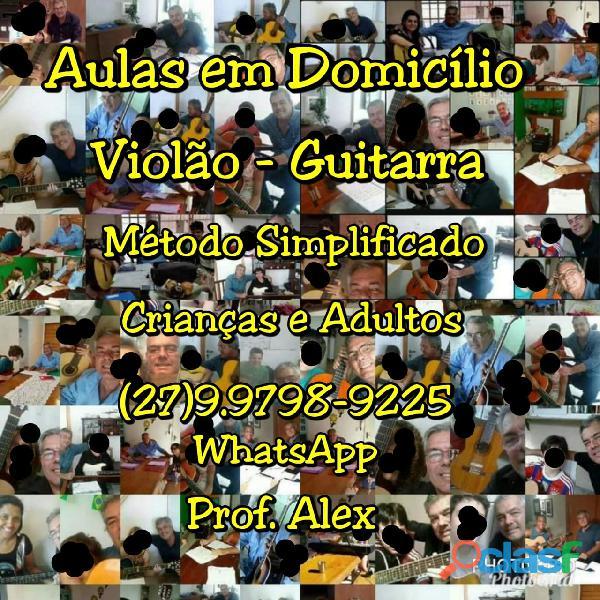 (27)99798 9225 aulas violão/guitarra em domicílio   vitória es