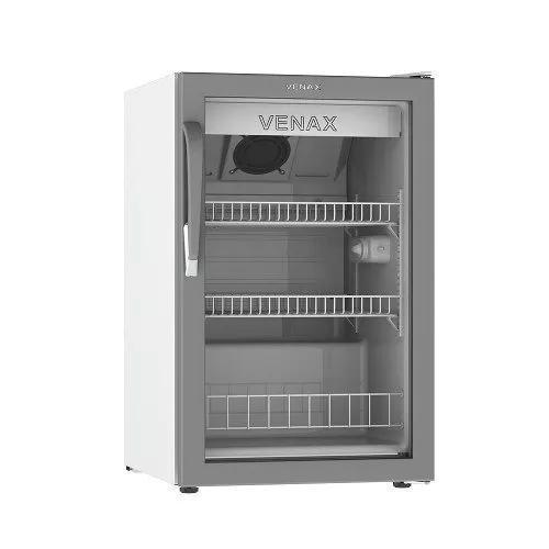 Expositor frigobar de bebidas venax vv 100 litros branca