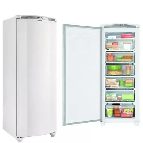 Freezer consul 1 porta vertical 231l cycle defrost branco 22