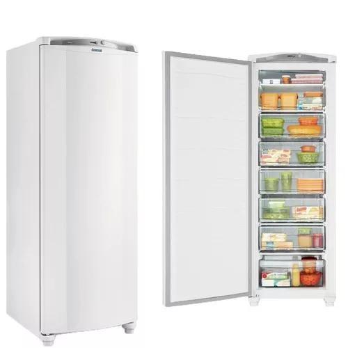 Freezer consul 1pt vertical 246l cycle defrost branco 127v