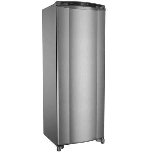 Geladeira frost free consul crb39ak, 342 litros, evox - 110v