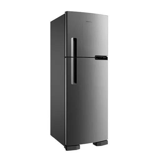 Geladeira / refrigerador, 375 litros, inox 220 volts