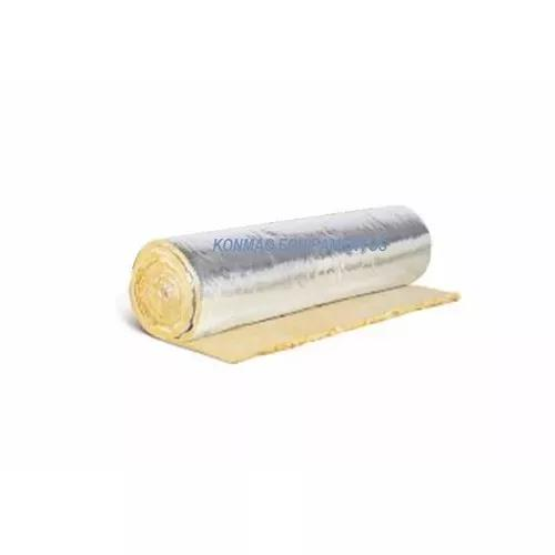 Manta lã isolante térmica película c/ alumínio forno