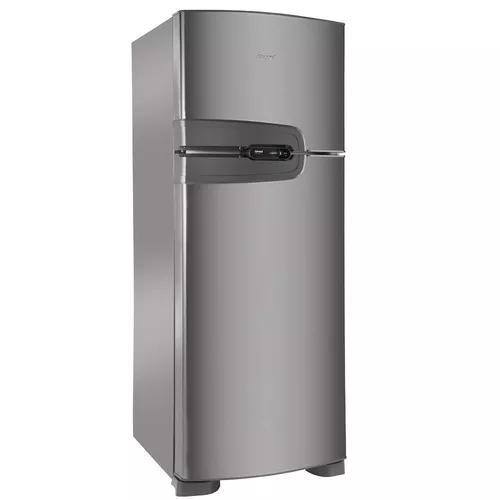 Refrigerador consul duplex frost free platinum 340l 220v crm