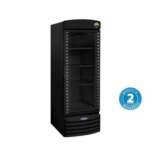 Refrigerador porta de vidro 572l allblack vb52rh - metalfrio