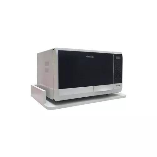 Suporte para forno microondas impressora mdf canto redondo