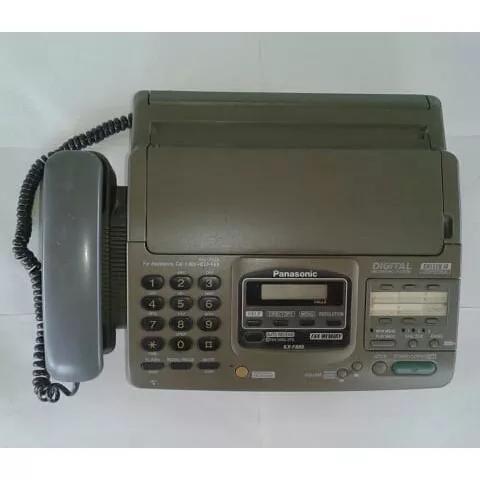 Aparelho de fax panasonic kx- f880