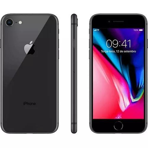 Apple iphone 8 64gb - novo - lacrado - original + nf