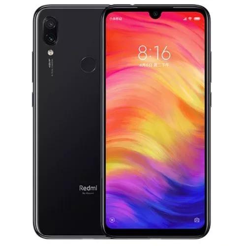 Cel smartphone redmi note 7 - 64gb 4gb ram + capa anti shock