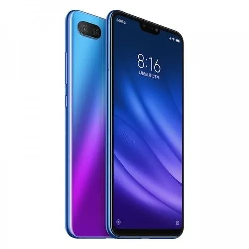 Celular xiaomi mi 8 lite azul 128gb / 6gb+capa+brinde