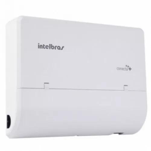 Central pabx conecta + 2 linhas e 8 r. placa dect intelbras