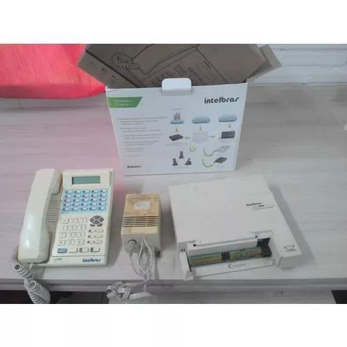 Central telefônica intelbras usada 4 linhas até oito term.