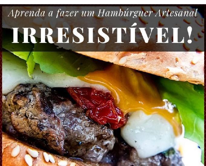 Começe agora o seu negócio em casa | hambúrguer artesanal