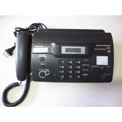 Fax panasonic kx- ft 938-secretária-identificador-picotador