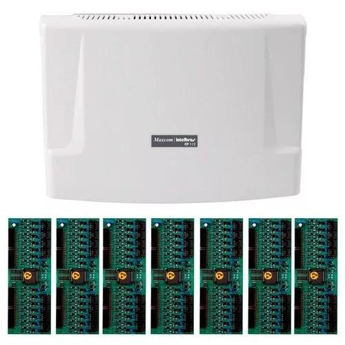 Kit central comunicação intelbras cp 112 + placa 112