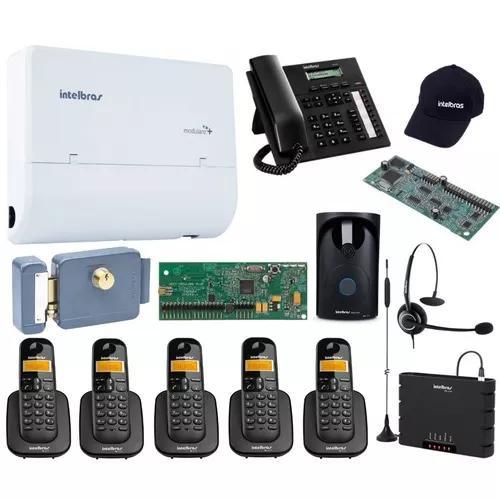 Kit pabx telefonia 2x4x5 s