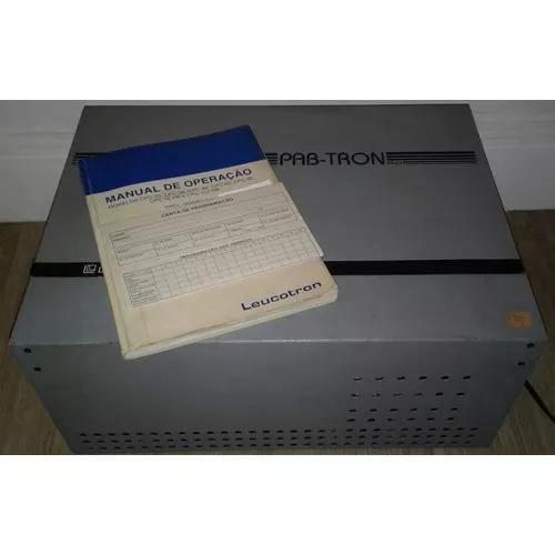 Pabx leucotron pab-tron cpc-38   usado