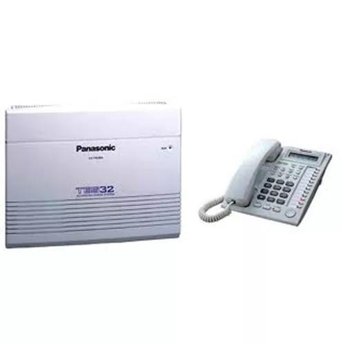 Pabx panasonic kx-tes 32 6 linhas 16 ramais + 7730 s