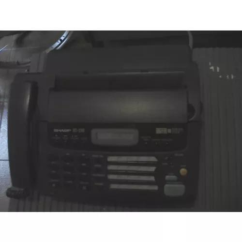 Secretária eletrônica fax / fone sharp ux256