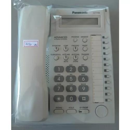 Telefone panasonic kx-t7730 para pabx - usado