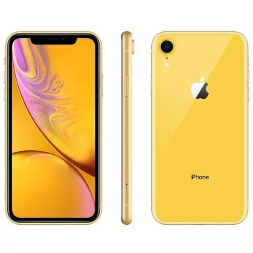 Iphone xr 64gb lançamento novo e lacrado anatel tela 6.1