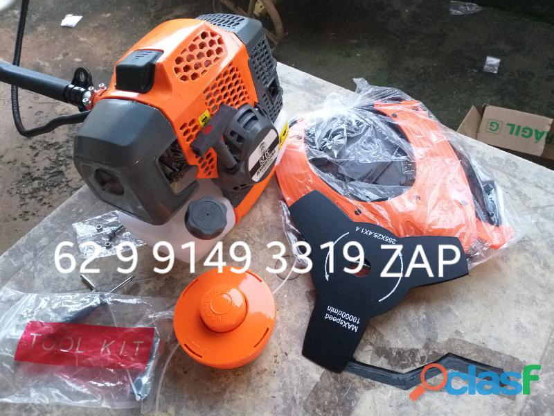 Roçadeira à gasolina de 52 cilindradas nova da marca sh ferramentas