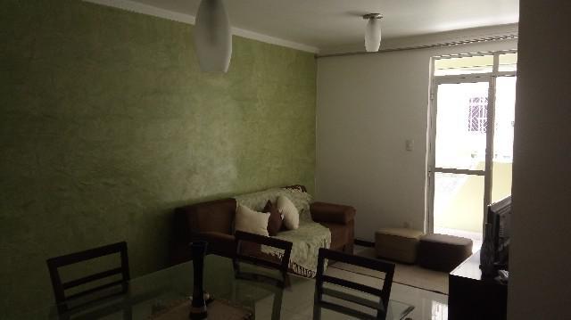 Apartamento mobiliado com 3 quartos por temporada