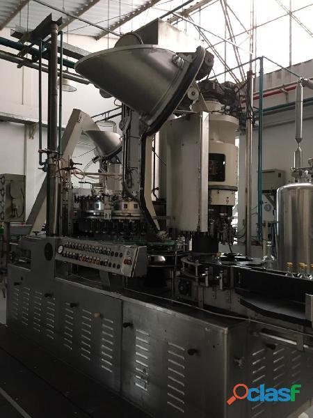 Linha completa para produção de espumantes   frisantes   cervejas etc.