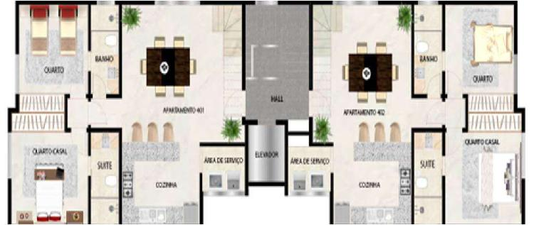 Apartamento, sion, 2 quartos, 2 vagas, 1 suíte
