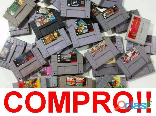 Compro todos jogos, fitas e cartuchos de video games antigos