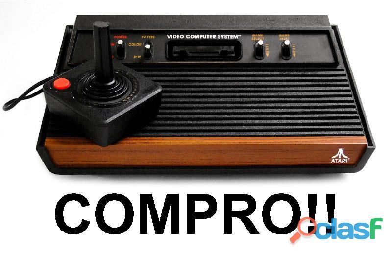 Compro video games atari 2600, polyvox cce dactar: jogos fitas cartuchos acessórios controles