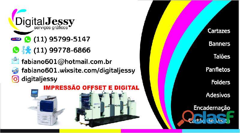 Digital jessy serviços gráficos