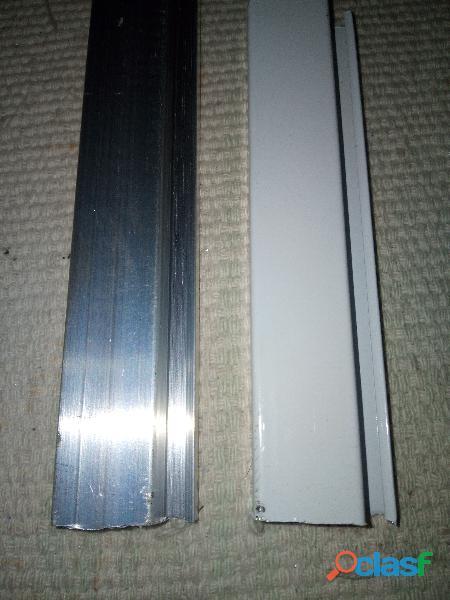 Perfil de alumínio para tela mosquiteira