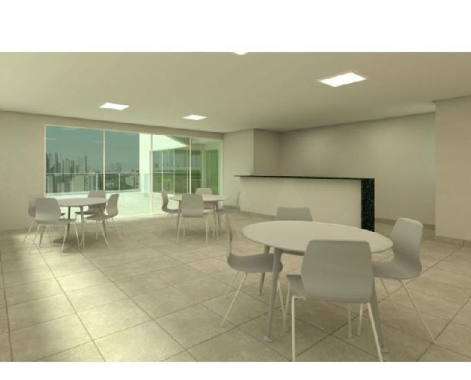 Apartamento no padro 58m² 3 quartos suite varanda 1 vaga