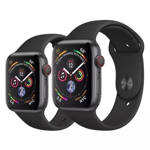 Apple watch série 4 44mm gps+ celular + nota
