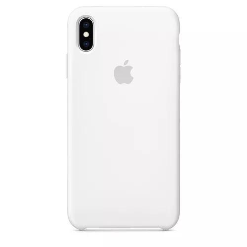 Capinha capa case silicone c/ logo apple iphone x xr xs max