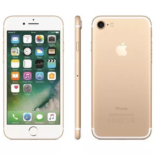 Celular apple iphone 7 32gb vitrine + brinde + nota fiscal