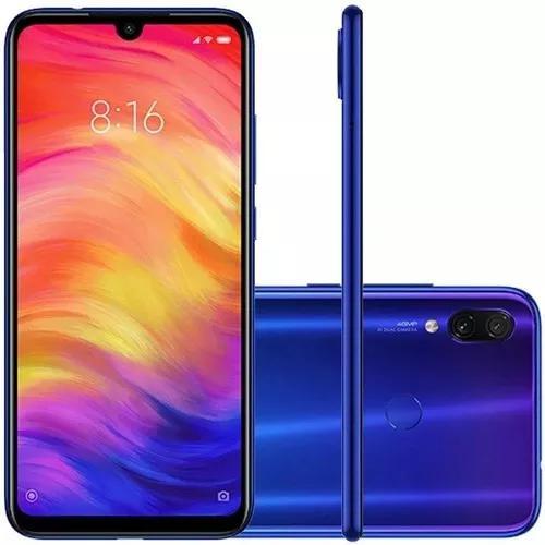 Celular smartphone redmi note 7 64gb 4gb ram + capa pelicula