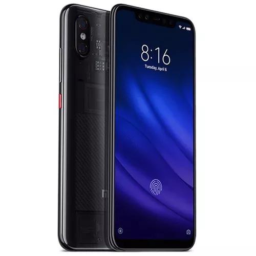 Celular xiaomi mi8 pro dual sim 128gb - transparent titanium