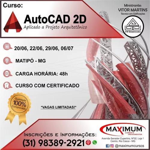 Curso De Autocad 2d Presencial